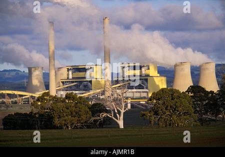 Power Station, Victoria, Australia - Stock Photo