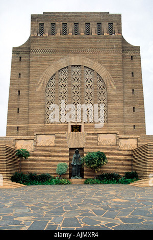 The Voortrekker Monument in Pretoria, South Africa. - Stock Photo
