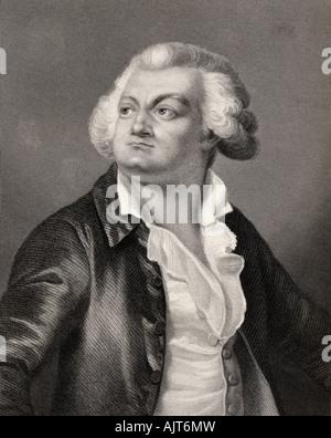 Honore Gabriel Riqueti Comte de Mirabeau 1749 1791 - Stock Photo
