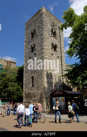 Saxon tower of St Michael at North Gate Oxford England - Stock Photo
