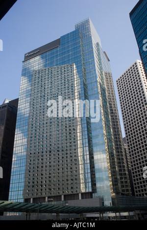 JP Morgan building Hong Kong Island China - Stock Photo