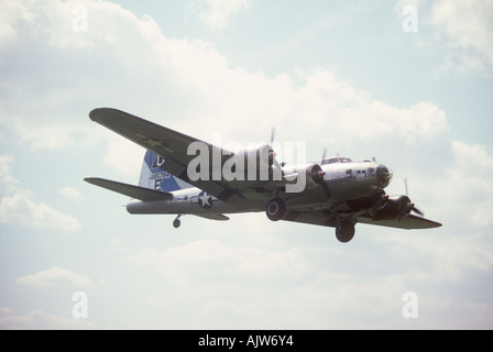 Preserved Boeing B-17 Flying Fortress Great Britain - Stock Photo