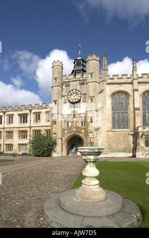 Trinity College Cambridge England 2004 - Stock Photo