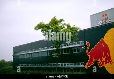 PICTURE CREDIT DOUG BLANE Red Bull Formula One F1 Racing British Grand Prix Head Quaters HQ Milton Keynes - Stock Photo