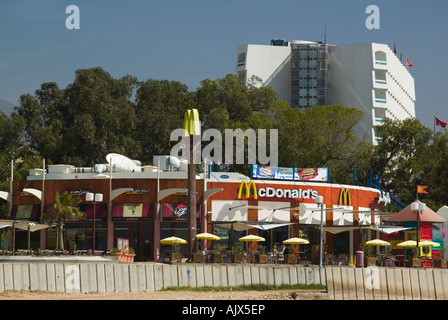 Mcdonalds fast food restaurant by the beach agadir the for Agadir moroccan cuisine aventura fl