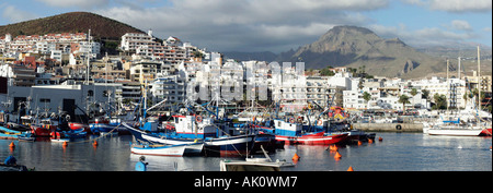 Harbour / Los Cristianos / Hafen - Stock Photo