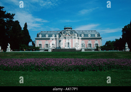 Castle Benrath / Duesseldorf / Schloss Benrath - Stock Photo