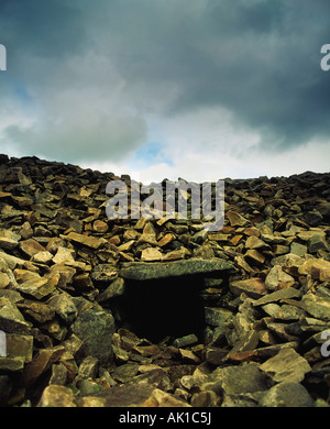 Co Armagh, Cailleach Beara's House and Summit Of Slieve Gullion, Ireland - Stock Photo