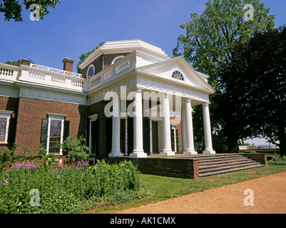 President Jefferson T Bedroom At Monticello Home Of Thomas