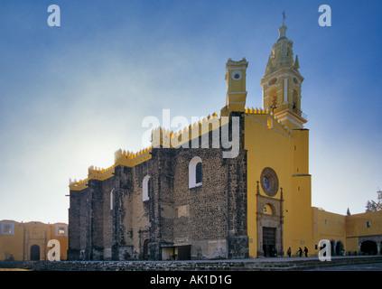 Iglesia de San Gabriel Ex convento de San Gabriel Cholula Mexico - Stock Photo