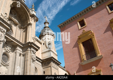 Cathedral, Granada, Andalucia, Spain - Stock Photo