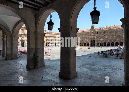 Plaza Mayor (Main Square), Salamanca, Castilla y Leon, Spain