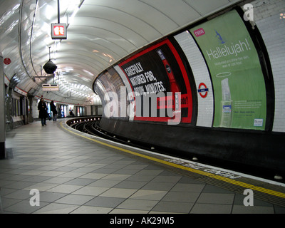 Bank Underground Station London - 1 - Stock Photo