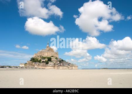 Mont Saint-Michel, Normandy, France - Stock Photo