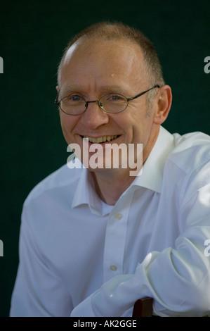 Scottish author James Robertson at Edinburgh International Book Festival 2006 - Stock Photo