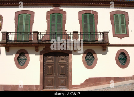 Old House in the center of Silves, Algarve, Portugal - Stock Photo