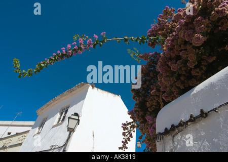 Back of Silves, Algarve, Portugal - Stock Photo