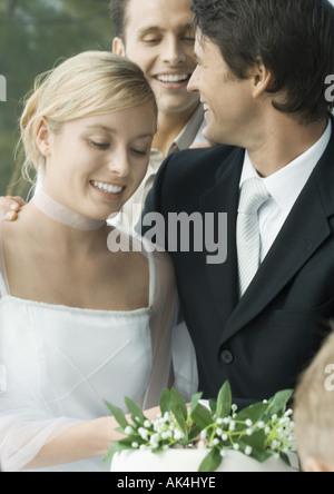 Wedding scene - Stock Photo