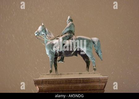 Hamburg / Bismarck Memorial - Stock Photo