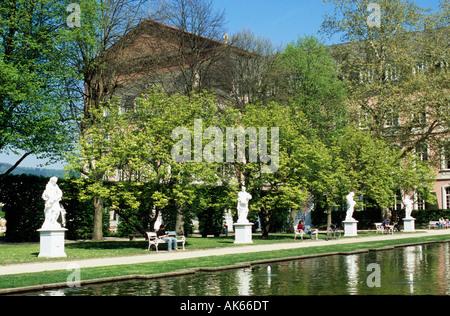 Electoral palace garden / Trier - Stock Photo