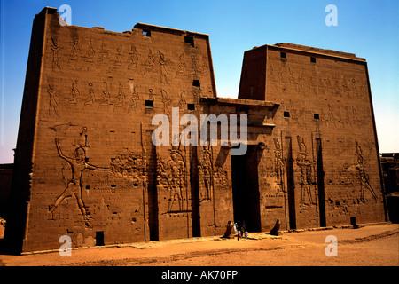 Temple of Horus / Edfu - Stock Photo