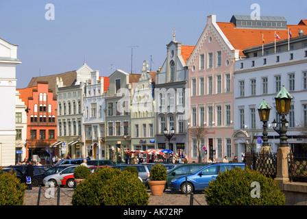 Houses / Wismar - Stock Photo