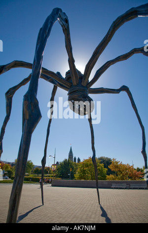 Large Spider at the National Art Gallery in Ottawa Canada s Capital City in Ontario Canada North America - Stock Photo