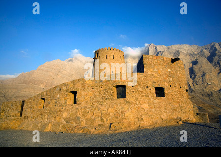 Bukha Fort - Oman Arabian Peninsula - Stock Photo