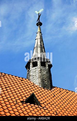 Church spire / Herten - Stock Photo