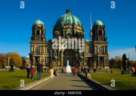 Altes Museum Lustgarten Museumsinsel Berlin Germany EU - Stock Photo