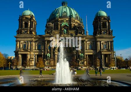 Berliner Dom am Lustgarten mitte Berlin Germany EU - Stock Photo