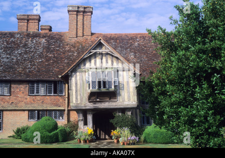 Great Dixter Sussex Christopher Lloyds house and garden - Stock Photo