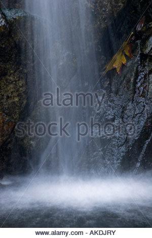 Sturtevant Falls Waterfall San Gabriel Mountains California - Stock Photo