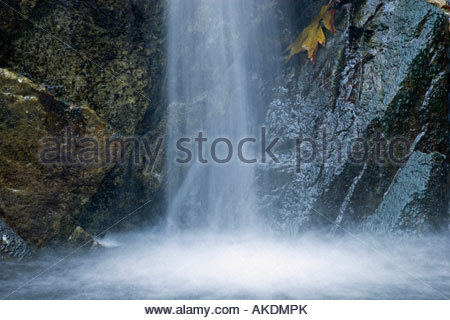 Sturtevant Falls Waterfall Cascades San Gabriel Mountains California - Stock Photo