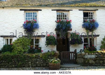 Yew Tree Farm, Cumbria, The Lake District, UK. - Stock Photo