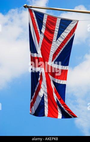 union jack flag great britain & northern ireland - Stock Photo