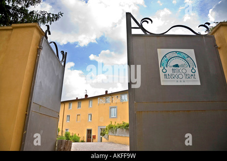 Antico albergo terme hotel terme jean varraud spa bagni di lucca stock photo royalty free image - Hotel terme bagni di lucca ...