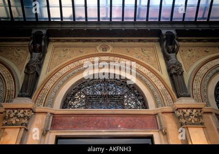 Österreich, Wien, Freyung, Palais Ferstel, Detail in der Ferstelpassage zwischen Herrengasse und Freyung - Stock Photo