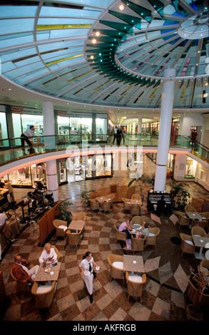 Österreich, Wien 1, Schubertring, Cafe in der Einkaufspassage Ringtrassen-Galerie - Stock Photo