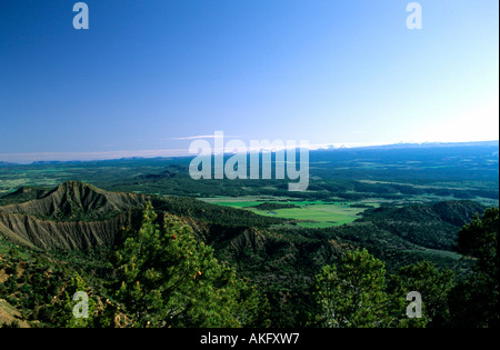 USA, Colorado, Mesa Verde Nationalpark - Stock Photo