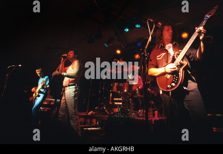 Tribute band 'Killer Queen' in concert, Wolverhampton, UK 2004 - Stock Photo