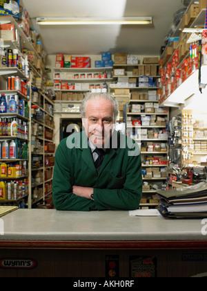 Hardware store owner - Stock Photo