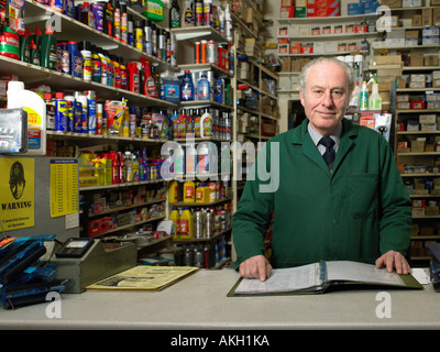 Hardware store owner - Stock Photo