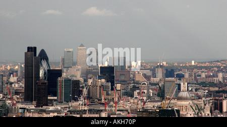 The City of London - Stock Photo