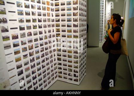 C On Cities exibition, Italia pavilion, Biennale di Architettura exibition, Venice, Veneto, Italy - Stock Photo