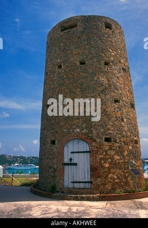 Blackbeards Castle Resort, Blackbeards Castle, resort, Charlotte Amalie, Saint Thomas, St Thomas, Virgin Islands, - Stock Photo
