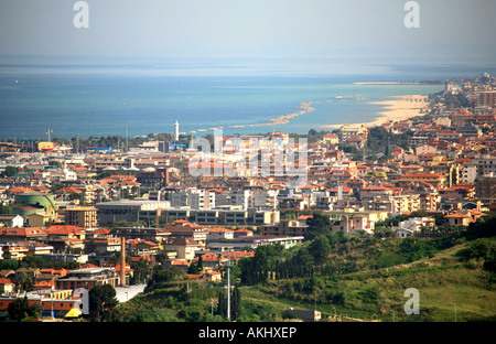 Cityscape, San Benedetto del Tronto, Marche, Italy - Stock Photo