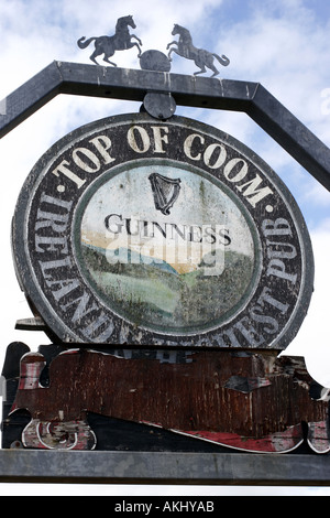 Near Ballingeary West cork Ireland - Stock Photo