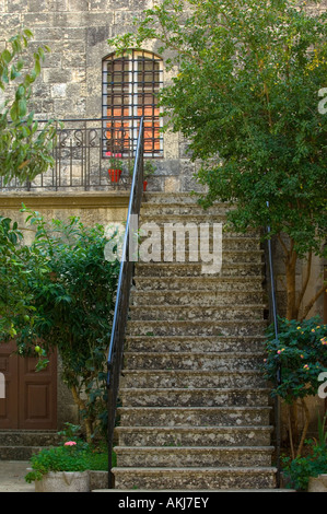 Old house in Deir Al Qamar Lebanon Middle East Asia - Stock Photo