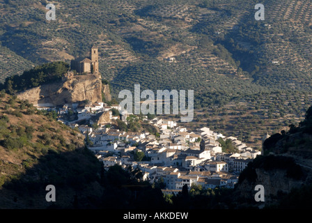 Histirical Town of  Montefrio, Granada province Andalucia, Spain - Stock Photo